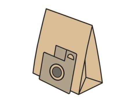 KOMA sáčky BEKO 1240 papírové 5 ks + 1 mikrofiltr